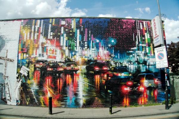 Graffiti Eastern London